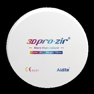 3D Pro-Zir Zirconia Disc